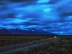 Clouds over the Teton Range