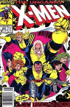 Drawing Marvel Comics X-Men 254 1963 Series December 1989 Marvel Comics - Story by Chris Claremo Drawing Cartoon Characters, Character Drawing, Comic Character, Cartoon Drawings, Marvel Characters, Comic Book Covers, Comic Book Heroes, Comic Books Art, Comic Art