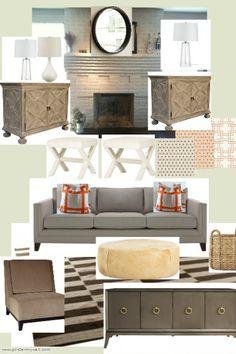 JWS Interiors: Family Room Project--Mood Board