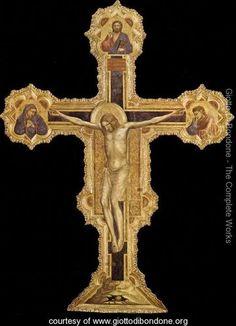 Crucifix 1317 - Giotto Di Bondone ✏✏✏✏✏✏✏✏✏✏✏✏✏✏✏✏ IDEE CADEAU   ☞ http://gabyfeeriefr.tumblr.com/archive .....................................................   CUTE GIFT IDEA  ☞ http://frenchvintagejewelryen.tumblr.com/archive   ✏✏✏✏✏✏✏✏✏✏✏✏✏✏✏✏