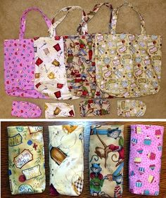 Foldable Tote Bag Pattern - Learn how to make a tote bag patter with this tote bag DIY.