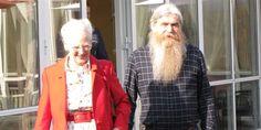 Rebellen fra Langeland fik fredag besøg af dronning Margrethe.