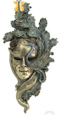 Mask<br> Carnival Makeup, Carnival Masks, Theater Mask Tattoo, Venitian Mask, New Orleans Art, Masquerade Theme, Art Village, Clay Face Mask, 3d Cnc