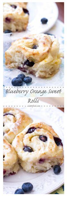 Blueberry Orange Sweet Rolls