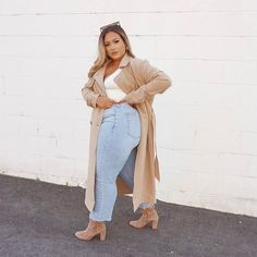 Chubby Girl Fashion, Curvy Fashion, Plus Size Fashion, Plus Size Winter Outfits, Spring Outfits, Plus Size Outfits, Thick Girls Outfits, Curvy Girl Outfits, Business Professional Outfits