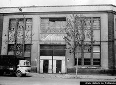 Galletas Solsona 1977 Façana de la fàbrica fundada el 1895 Galletas y chocolates Solsona
