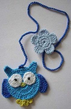Luty Artes Crochet: Marcadores de páginas crochê