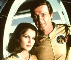 Lois Chiles and Roger Moore - Moonraker