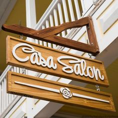 Business Carved Sign Personalized Wood Business Sign