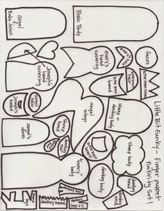 Little Bit Funky: twenty minute crafter {finger puppet nativity} (updated! Nativity Crafts, Christmas Nativity, Felt Christmas, Christmas Holidays, Christmas Crafts, Christmas Bells, Christmas Printables, Christmas Ideas, Felt Puppets