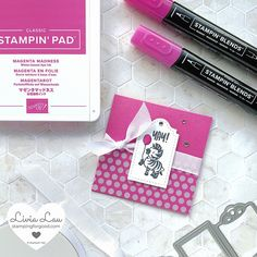 West Coast Creators July Blog Hop | In Color Mini Card Set | Stamping for Good