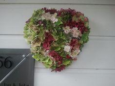 Hart van hortensia