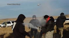 Standing Rock: Police Arrest 120+ Water Protectors as Dakota Access Speeds up Pipeline Construction -   On Saturday over 100 people were arrested at a peaceful march after they were confronted by police in riot gear, carrying assault rifles.