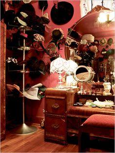 Dita von Teese's bedroom