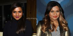 Mindy Kaling looks great with Ombre Highlights Ombre Highlights, Caucasian Woman, Star Party, Hair Transformation, Celebrity Hairstyles, Fall Hair, Pixie Cut, Cut And Color, Her Hair