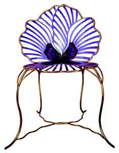 Pansy Chair by Joy de Rohan Chabot | Furnishings  Functional Objects… ($500.00) - Svpply