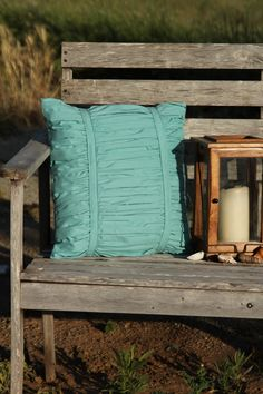 Ruched Throw Pillow