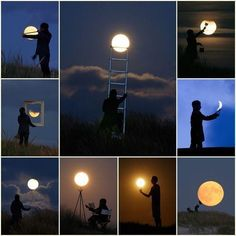 Cool ideas for moon pictures