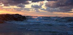 New Buffalo Beach, Michigan - 9/18/12. I love Lake Michigan when she's angry. #BeautifulLakeMichigan