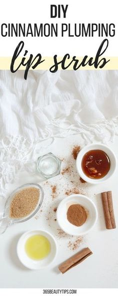 #DIY #lipscrub #cinnamon #sugar #scrub #homemade