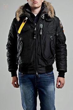 Parajumpers Hommes Masterpiece Gobi Bomber Noir €254.32