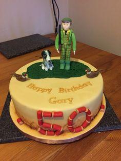 Game keeper cake