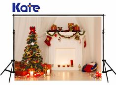 Kate Christmas Backdrop Photograph Christmas Gree Trees Indoor Photo Backdrop For Children Photo Studio Camera Fotografica Christmas Photography Backdrops, Christmas Backdrops, Christmas Decorations, Holiday Decor, Photo Backdrops, Backdrop Ideas, Cheap Christmas, Green Christmas, Christmas Ideas