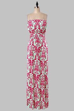 Blow Your Mind Maxi - Pink from Chocolate Shoe Boutique