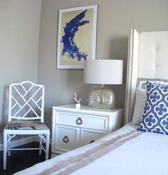 Excitingly Eclectic Design By Nina Jizhar Interiors. Bedroom via Design Shuffle