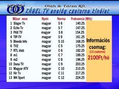-- OLÁH & TSA KFT. -- KTV, Intenet, Telefon - tiptv.lapunk.hu