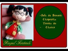 DIY- Aula Chiquinha turma do chaves - Raquel Fontinele Sah Biscuit, Miniature Crafts, Pasta Flexible, Biscuits, Polymer Clay, Projects To Try, Youtube, Christmas Ornaments, Holiday Decor