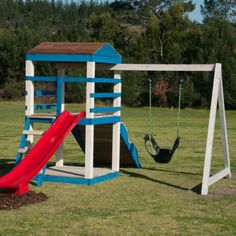 Diy Swing Set Inspirational Diy Outdoor Playsets and Swing Sets.