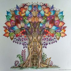 Enchanted Forest Tree by Wendy