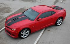 "2014-2015 Chevy Camaro S-SPORT ""OEM Factory Style"" Rally and Racing Stripes Kit fits SS Models Only"