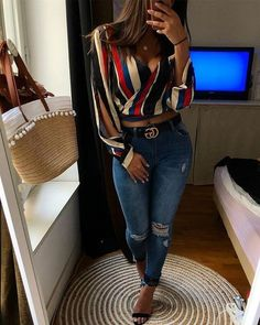 Classy Outfits, Chic Outfits, Spring Outfits, Trendy Outfits, Fashion Outfits, Womens Fashion, Skirt Outfits, Cute Fashion, Denim Fashion