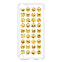 Cool Smiley Faces emoji Hard Back Durable Case for Ipod Touch 5,diy Cool Smiley Faces emoji case series 3