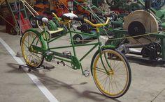 John Deere Tandem Bicycle