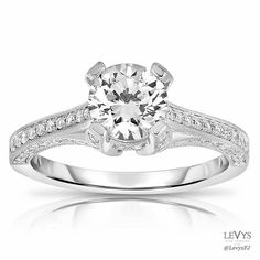 F3432 #FischerJewelryDesign #engagement