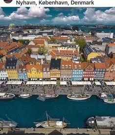 Copenhagen Denmark, City Photo, River, Outdoor, Outdoors, Outdoor Games, Outdoor Living, Rivers