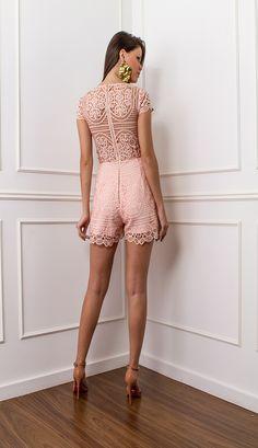 MACAQUINHO GUIPIR ROSA - MAC28156-14 | Skazi, Moda feminina, roupa casual, vestidos, saias, mulher moderna