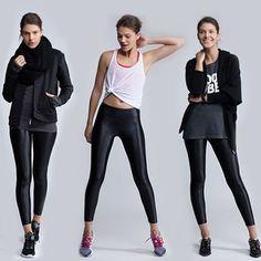 www.rawtorunway.com One legging, three ways | Koral Lustrous