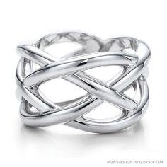Tiffany Jewelry Knots Ring; wow!