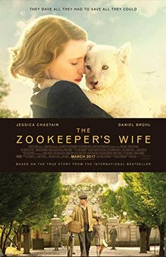 The Zookeeper's Wife by Diane Ackerman - BookBub Jessica Chastain, Smart Tv, Harley Quinn, Warsaw Zoo, Kino Box, Wife Movies, Best History Books, In This World, Batman