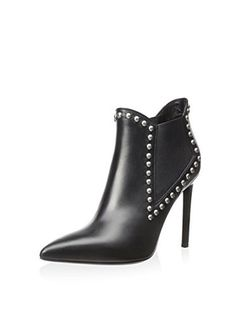 Saint Laurent Women's Paris Ankle Boot (Black)