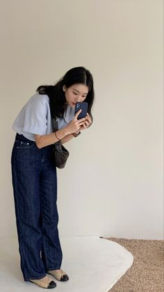 Korean Girl Fashion, Korea Fashion, Daily Fashion, Cool Outfits, Summer Outfits, Casual Outfits, Fashion Outfits, After Life, How To Pose