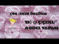TIĞ İŞİ ÇİÇEKLİ MODEL YAPIMI - YouTube