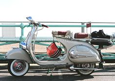 Brighton Mod Weekend 2014 | Lambretta, Vespa, Scooter
