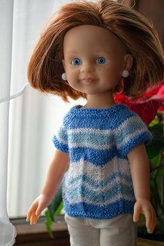 Делать ей было совершенно нечего, а сидеть без дела, сами знаете, дело нелегкое / Paola Reina, Antonio Juan и другие испанские куклы / Бэйбики. Куклы фото. Одежда для кукол