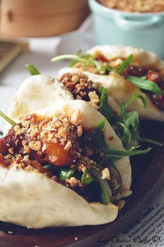 Gua Bao with Pancetta Gua Bao, Indian Food Recipes, Asian Recipes, Healthy Recipes, Ethnic Recipes, Chefs, Modernist Cuisine, Bao Buns, Sandwiches For Lunch