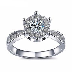 Etta https://www.Tiara.com.sg : #jewellery #jewelry #accessories #anniversary #valentine #sparkle #ring #rings #engagementring